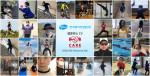 한국화이자업존 임직원들이 건강한 심장을 만드는 비대면 운동 C.A.R.E 캠페인에 참여한다