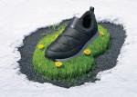 페트병 리사이클링 소재인 친환경 충전재 에코 브이모션이 적용된 뮬 슬립온 브이모션