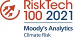 무디스 애널리틱스가 2021 차티스 리스크 테크100의 기후 위험 부문상을 수상했다