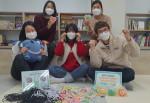 동작구청소년지원센터 꿈드림 소속 학교 밖 청소년 봉사 동아리 '몽봉동'이 지역사회 취약 계층에 방역 물품을 전달했다