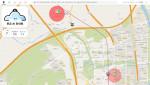 자율주행 AI 안내원 서비스 프로토 타입 화면