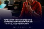 프로스트 앤드 설리번이 2021 커넥티드 워크 산업 Top 5 성장 기회에 대해 발표했다