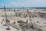 도스보카스 정유공장 프로젝트 공사 현장 전경