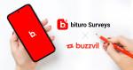 버즈빌이 미국 모바일 리서치 앱 '비투로 서베이'와 전략적 제휴를 체결해 리워드 광고 수익화 기회를 제공한다