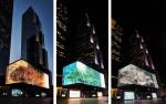 서울미디어아트 프로젝트 선정작인 'Pivotal Tree(당산나무)'는 '오래된 생명력'과 '소통의 공간'을 의미하는 당산나무를 현대적으로 표현한 미디어아트다