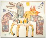 데니스 루돌프 프랭크(Denise Rudolf Frank)의 작품 MANA, 2020(사진: 엘리제레갤러리 제공)