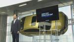 현대차 이원희 사장이 2025 전략을 발표하고 있다