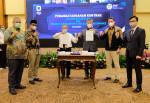 자카르타에 위치한 인도네시아 국세청에서 국세 행정시스템 구축 계약식이 열렸다