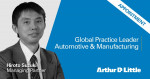 Arthur D. Little appoints Hiroto Suzuki as new Global Practice Leader for Automotive & Manufacturing