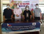 사단법인 캠프는 마닐라 빈민 지역 5000가구를 대상으로 위생 키트와 건강 키트를 배분했다