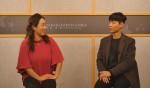 왼쪽부터 일산FM DJ 주디와 일산FM 박희철 활동가