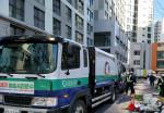 선경에코텍은 1일부터 7일까지 임시기동반을 편성, 그동안 수거되지않은 폐기물을 처리했다