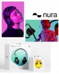 nura 브랜드의 'nuraphone'과 'nuraloop'