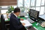 한국법무보호복지공단이 비대면 화상회의를 통해 2021 핵심 전략과제 선포식을 열었다