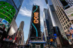 비고라이브(BIGO LIVE) in 뉴욕 타임스스퀘어