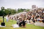 노들섬 잔디마당에서 진행된 브로콜리너마저 2020 '이른 열대야' 버스킹 공연