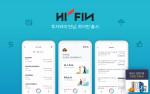 하이핀 서비스 주요 화면