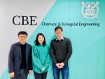 왼쪽부터 서울대 화학생물공학부 서상우 교수, 양진아 박사, 한용희 박사과정