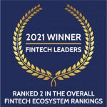 무디스 애널리틱스가 CeFPro의 핀테크 리더 보고서에서 4개 부문 1위 및 종합 순위 2위를 차지했다