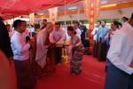 2018년 3월 1일 미얀마 정부로부터 작위를 받는 민주화운동기념사업회 지선 이사장