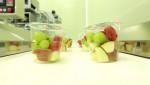포장이 완료된 과일드림의 과일간식(컵 과일)