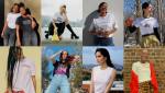 네타포르테의 #PowerToChange 캠페인에 참여한 인크레더블 우먼 8인. 맨 왼쪽부터 시계 방향으로 재이 트윈스, 티에리 초우, 나오미 시마다, 아테나 칼데론, 살렘 미첼,