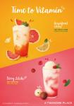 투썸플레이스가 선보이는 상큼하고 청량한 과일 음료 2종