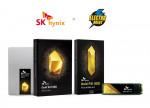 왼쪽부터 SK하이닉스 Gold S31 SSD, SK하이닉스 Gold P31 SSD
