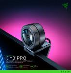 레이저(RAZER)가 비디오 콘퍼런스, 스트리밍에서 전문가 수준의 비디오 품질을 갖춘 웹캠 'Razer Kiyo Pro'를 출시했다