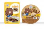 오뚜기가 출시한 가뿐한끼 짜장과 현미밥