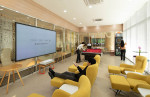 호텔 서울드래곤시티가 오픈한 두두 라운지 엔터테인먼트 공간