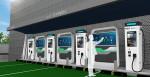 기아와 GS칼텍스가 공개한 협업 전기차 초급속 충전기 예상도
