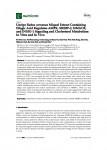 미숙과 복분자 항콜레스테롤(in vitro, in vivo) Nutrients 12,610, 2020