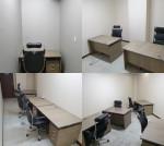 왼쪽부터 에스플랜오피스의 1인실, 2인실, 3인실, 4인실이며 비상주 사무실도 가능하다