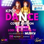 LODI & Booming TV K-POP 시즌 3 포스터