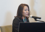 7일 웨비나로 열린 '인비절라인 콘서트'에서 개회사를 하는 인비절라인 코리아 이윤이 신임 사장