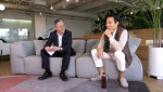 왼쪽부터 김종갑 본투글로벌센터장과 김동신 센드버드 대표