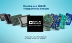 마우저 일렉트로닉스가 공급하는 광범위한 최신 아나로그디바이스 제품들