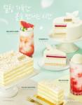 프리미엄 디저트 카페 투썸플레이스가 우리 쌀로 만든 글루텐 프리 케이크를 출시했다