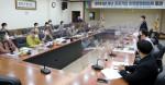 충청남도 공공기관 인권경영협의체의 2021년 첫 정기회의 현장