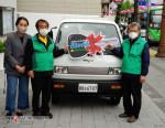 강북구새마을회가 경형 전기화물차 라보ev피스를 도입했다