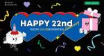 예스24가 창립 22주년 기념 이벤트를 진행한다