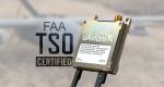 드론 트랜스폰더 중 세계 최초로 FAA TSO 인증 획득한 핑200X