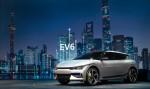 기아가 2021 상하이 국제 모터쇼에서 공개한 EV6