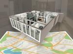 한국가상현실의 AI 머신러닝을 통해 제작된 3D VR 아파트평형