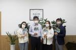 화성시문화재단이 '내가 꿈꾸는 문화도시 화성' 상상하기 캠페인을 진행한다. 이종원 대표이사와 문화도시추진단원들