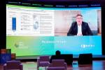 2021 P4G 서울 비즈니스 포럼에서 주제 발표를 하는 야콥 폴슨(Jakob Poulsen) 회장