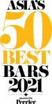 프랑스 천연 탄산수 브랜드 페리에가 글로벌 후원하는 '2021년 아시아 최고의 바' 시상식의 톱50 명단이 공개됐다