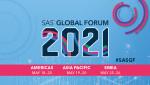 SAS 글로벌 포럼 2021 포스터