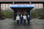 왼쪽부터 이상수 특수사업본부장, 박준호 위원장, 박기문 사장, 김진옥 의원